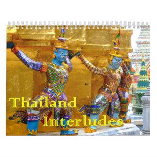 Thailand Interludes Calendar
