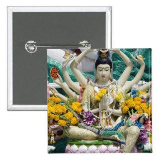 Thailand, Ko Samui aka Koh Samui). Wat Plai 2 Buttons