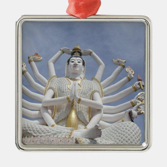 Thailand, Ko Samui aka Koh Samui). Wat Plai 3 Metal Ornament