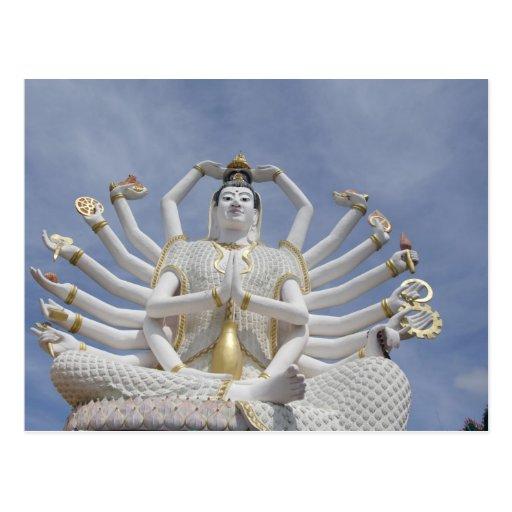 Thailand, Ko Samui aka Koh Samui). Wat Plai 3 Post Cards