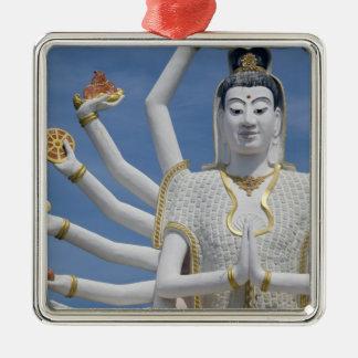 Thailand, Ko Samui aka Koh Samui). Wat Plai Metal Ornament