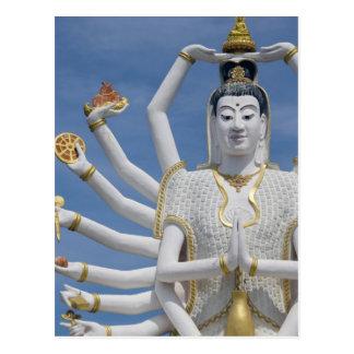 Thailand, Ko Samui aka Koh Samui). Wat Plai Postcard