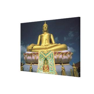 Thailand, Koh Samui Island. Big Buddha. Canvas Print