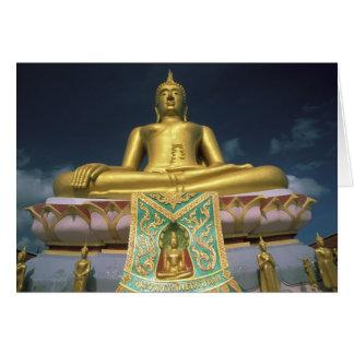 Thailand, Koh Samui Island. Big Buddha. Card