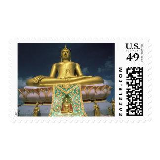 Thailand, Koh Samui Island. Big Buddha. Postage Stamps