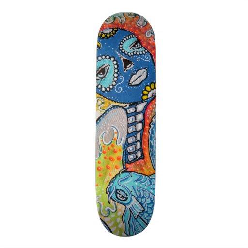 Thailand Koi Fish Skateboard Art Zazzle