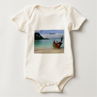 Thailand Krabi beach (new) (St.K) Baby Bodysuit