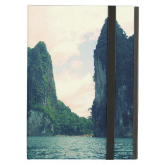 Thailand lake mountain landscape iPad air cover