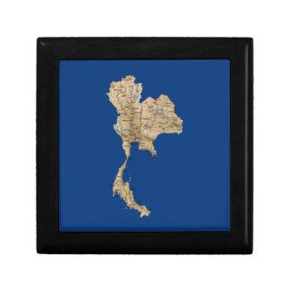 Thailand Map Gift Box