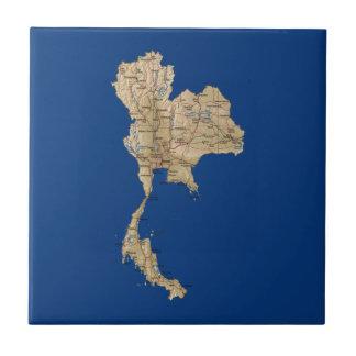 Thailand Map Tile