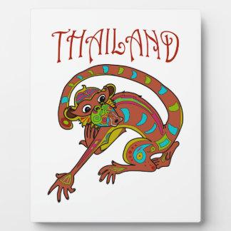 Thailand Monkey Display Plaques