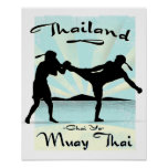 Thailand Muay Thai Poster