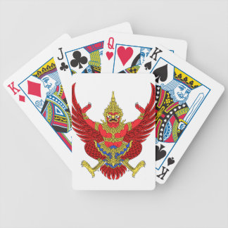 Thailand National Emblem Bicycle Playing Cards