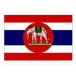 Thailand Naval Ensign Postcards
