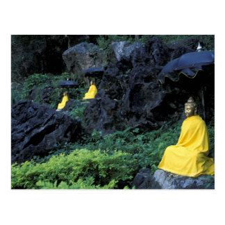 Thailand, Northern Thailand, Mae Hong Son, 2 Postcard