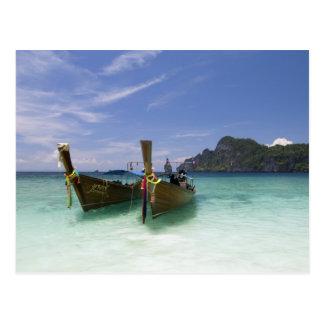Thailand, Phi Phi Don Island, Yong Kasem beach, Postcard