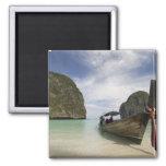 Thailand, Phi Phi Lay Island, Maya Bay. Refrigerator Magnet
