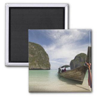 Thailand, Phi Phi Lay Island, Maya Bay. Magnet