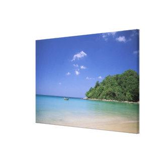 Thailand, Phuket Island. Beach. Canvas Print