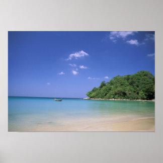 Thailand, Phuket Island. Beach. Poster