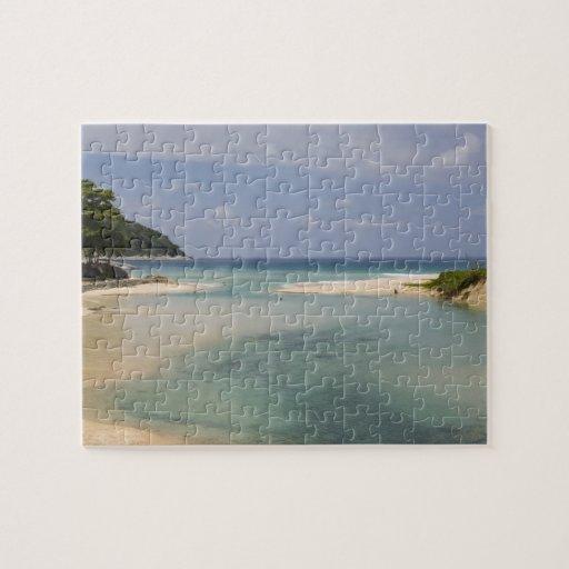 Thailand, Phuket, Nai Harn beach. Puzzle