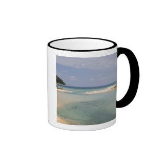 Thailand, Phuket, Nai Harn beach. Ringer Mug