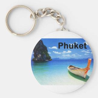Thailand Phuket (St.K) Basic Round Button Keychain