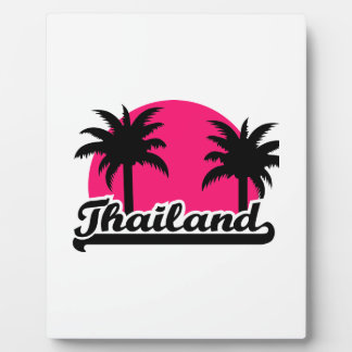 Thailand Display Plaque