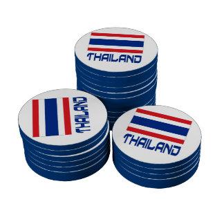 Thailand Set Of Poker Chips