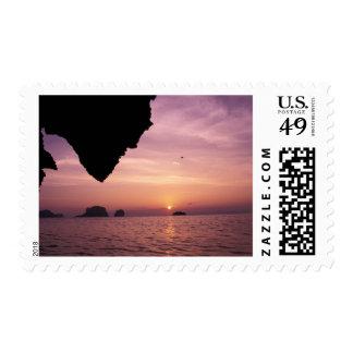 Thailand, Rai Leh Beach. Karst (limestone) Stamp