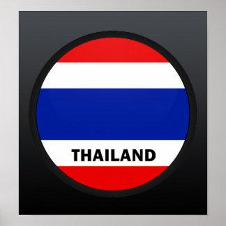 Thailand Roundel quality Flag Print