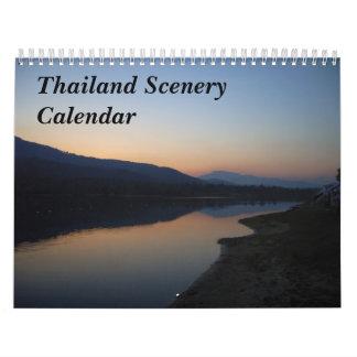 Thailand Scenery Calendar