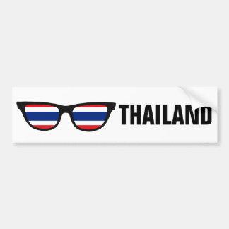 Thailand Shades custom text & color bumpersticker Car Bumper Sticker