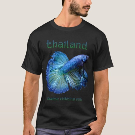 Thailand Siamese Fighting Fish T-Shirt