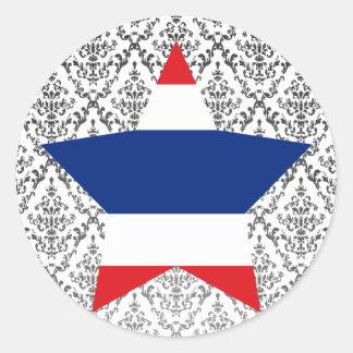 Thailand Star Stickers