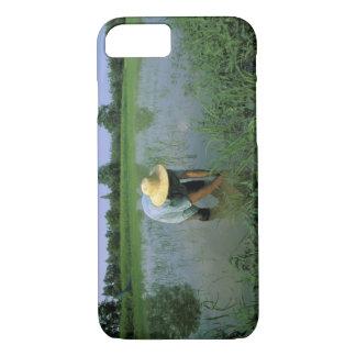 Thailand, Sukhothai. Rice farmer. MR. iPhone 8/7 Case