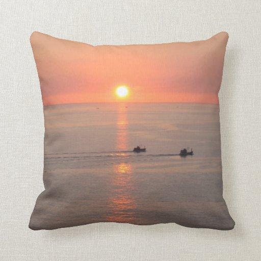 Thailand Sunset Pillows