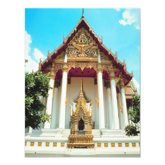 Thailand Temple Card