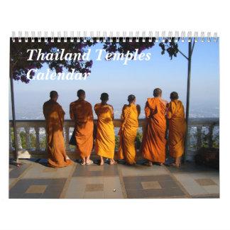 Thailand Temples Calendar