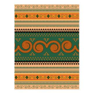 Thailand Traditional Patterns   Decorative art Postcard