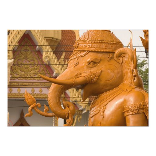 Thailand, Ubon Ratchathani, Candle festival, Photo Print