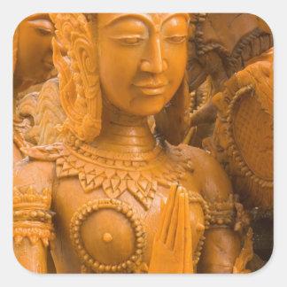 Thailand, Ubon Ratchathani, Candle festival, Square Sticker
