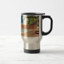 Thailand Vintage Travel Poster Travel Mug