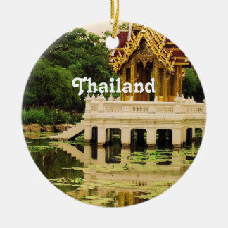 Thailand Water Garden Ceramic Ornament