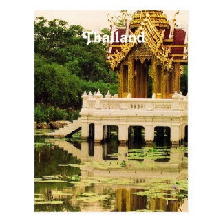 Thailand Water Garden Postcard