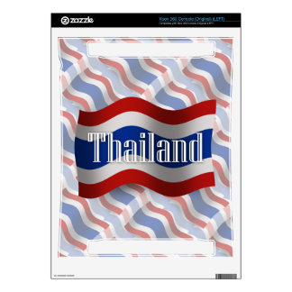 Thailand Waving Flag Decals For Xbox 360