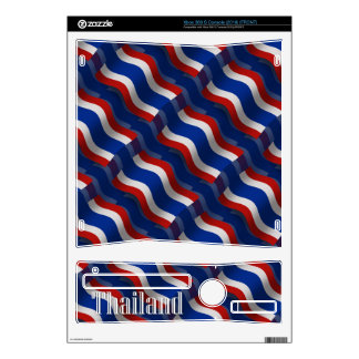 Thailand Waving Flag Decal For Xbox 360 S