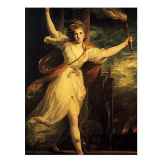 Thais de Ahens con tacto de Joshua Reynolds Postales