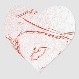 Thais Pegatina En Forma De Corazón