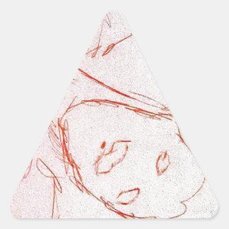 Thais Pegatina Triangular